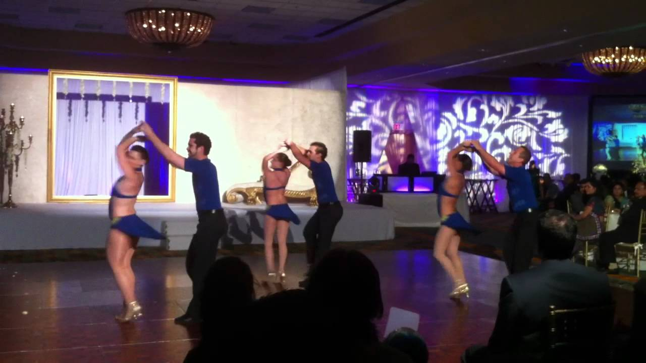 Salsa Performance by Bobby Nunez and A Party Hall's Dance Crew