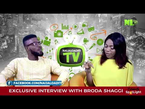 Broda shaggi was  interviewed in naigaloaded tv