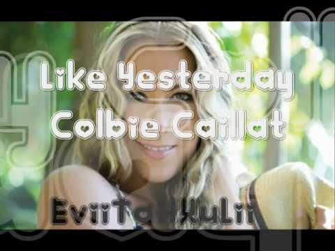 Like Yesterday -Colbie Caillat (Traducida al Español)