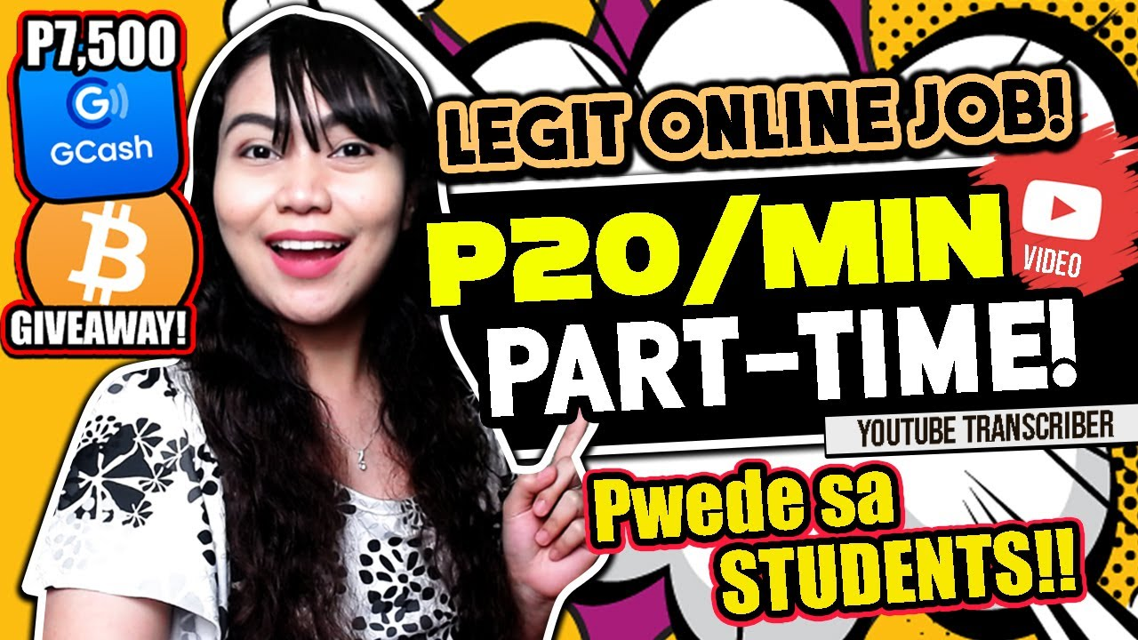 [P20/MINUTE] Part-Time ONLINE JOB: Pwede sa STUDENTS w/ UPDATES + BONGGANG P7500 GIVEAWAY: JOIN NOW!