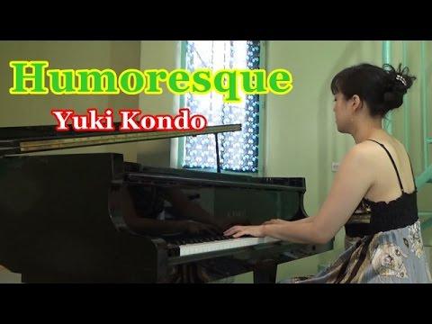 【癒しのピアノ名曲】 ドヴォルザーク: ユーモレスク  ピアニスト近藤由貴 /Dvořák Humoresque, Yuki Kondo