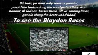 Blaydon Races (with lyrics)