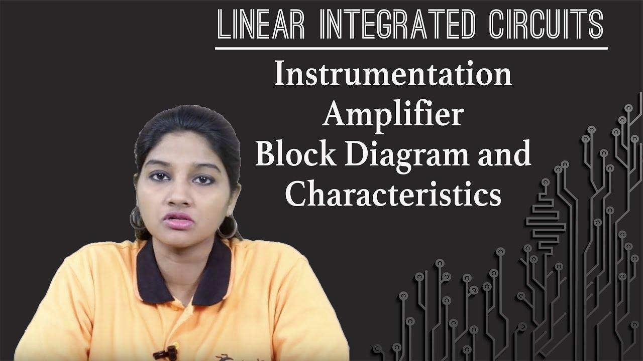 instrumentationamplifierblockdiagramandcharacteristics linearapplicationsofop linearintegratedcircuits [ 1280 x 720 Pixel ]