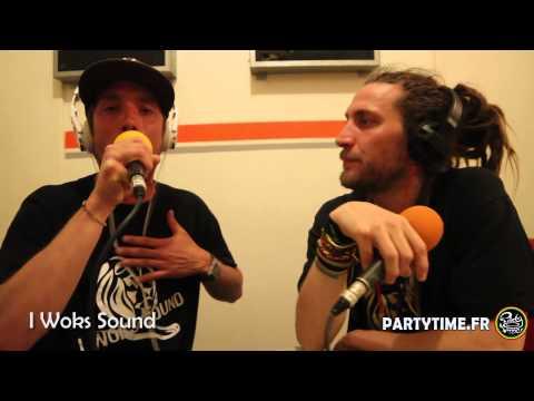 I WOKS SOUND   Freestyle at Party Time Reggae Radio Show   18 MAI 2014