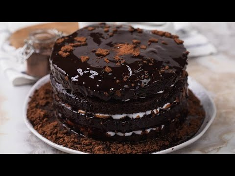 Chocolate pull me up cake the result is beautiful