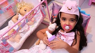 BIA LOBO PRETEND PLAY BABY WITH Baby Alive