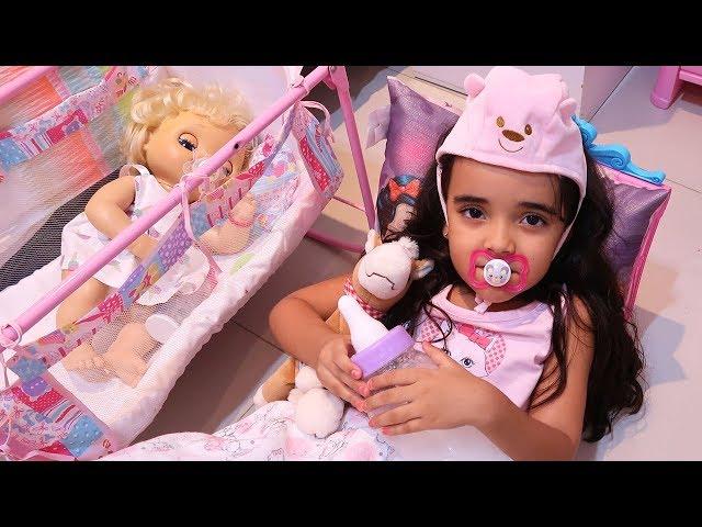 Bia Lobo Baby Alive COMPILATION