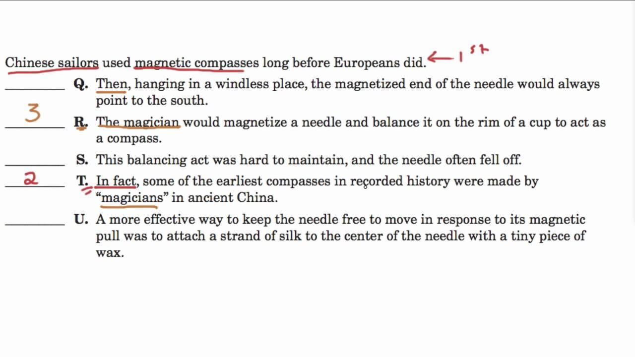 Paragraphs Activity Intermediate Writing