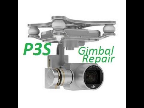 hqdefault how to remove replace dji phantom 3 standard gimbal & camera fix dji phantom 3 camera wiring diagram at bayanpartner.co