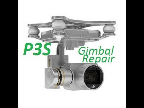 How to Remove / Replace DJI Phantom 3 Standard Gimbal & Camera Fix Repair with Crash!