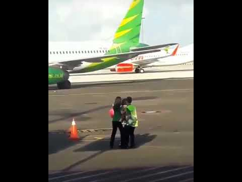 Woman Trying To Chase Down Plane After Missing Her Flight