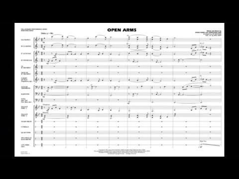 Open Arms arranged by Jay Bocook