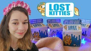 Kupujemy i otwieramy Lost Kitties!  |Śmieszne kotki!  Pokaż kotku co masz w środku!