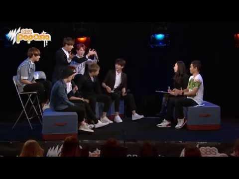 BTS reveal their celebrity crushes [SBS PopAsia TV]