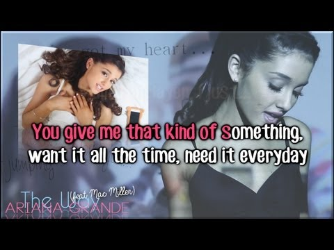 Ariana Grande - The Way (feat. Mac Miller) Karaoke/ Instrumental