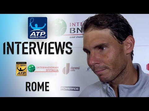 Nadal Reflects On 'Unforgettable' Rome 2018 Title