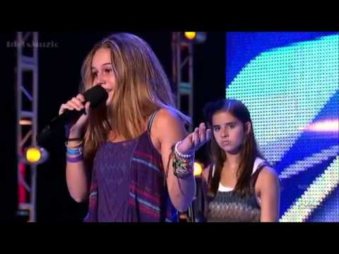 Carly Rose Sonenclar vs. Beatrice Miller (The X Factor USA 2012 Boot Camp)