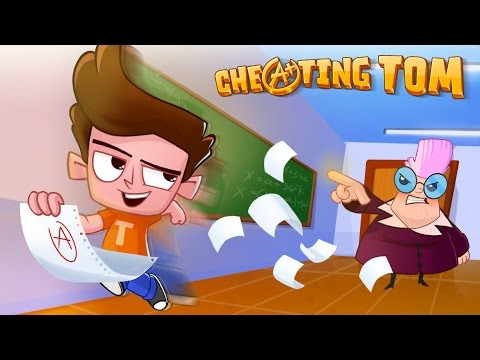 Cheating Tom | Cheat Your Way to Graduation | TabTale