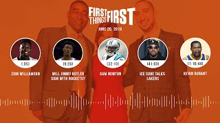 First Things First audio podcast (6.20.19)Cris Carter, Nick Wright, Jenna Wolfe | FIRST THINGS FIRST