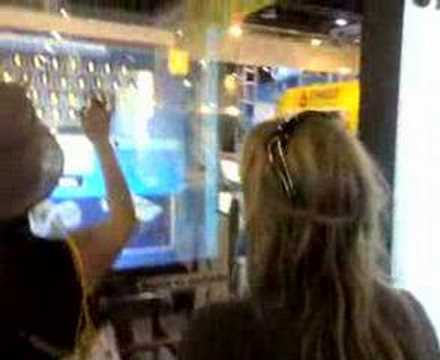 interactive transparent projection screen dubai