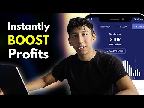(Step By Step) How To Increase Profits Instantly | Shopify Dropshipping 2019 thumbnail