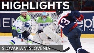 Gaborik grabs it for Slovakia over Slovenia | #IIHFWorlds 2015