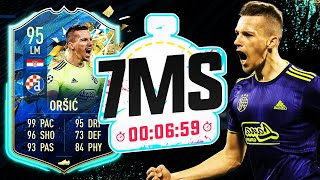 THE HARDEST EPISODE YET!! TOTS 95 ORSIC 7 MINUTE SQUAD BUILDER - FIFA 20 ULTIMATE TEAM
