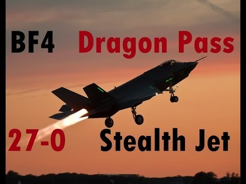 BF4 Stealth Jet Gameplay (27-0) | Dragon Pass: F-35 | Conquest Large HD - Turbopummel