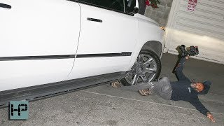 YIKES! JLo's SUV Runs Over a Paparazzi - Pins His Leg Under the Wheel
