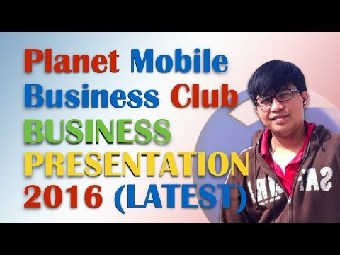 Planet Mobile Business Club Presentation 2016 LATEST