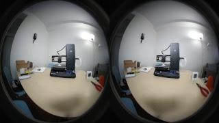 VR180 Live: Printing from Monoprice i3 Mini 3D Printer