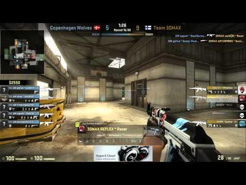 (25.09.2014) CW vs 3DMAX | Copenhagen Wolves vs Team 3DMAX | Dreamhack Stockholm 2014