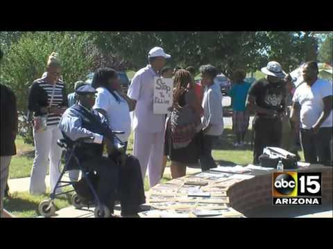 Terrence Crutcher event in Tulsa, OK - Black lives matter