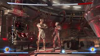 Injustice 2 The Flash : BnBs restands/resets/Crossups.