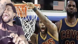 LEBRON HAS A DUNK CONTEST ALL GAME!!! CAVALIERS vs PISTONS HIGHLIGHTS REACTION!