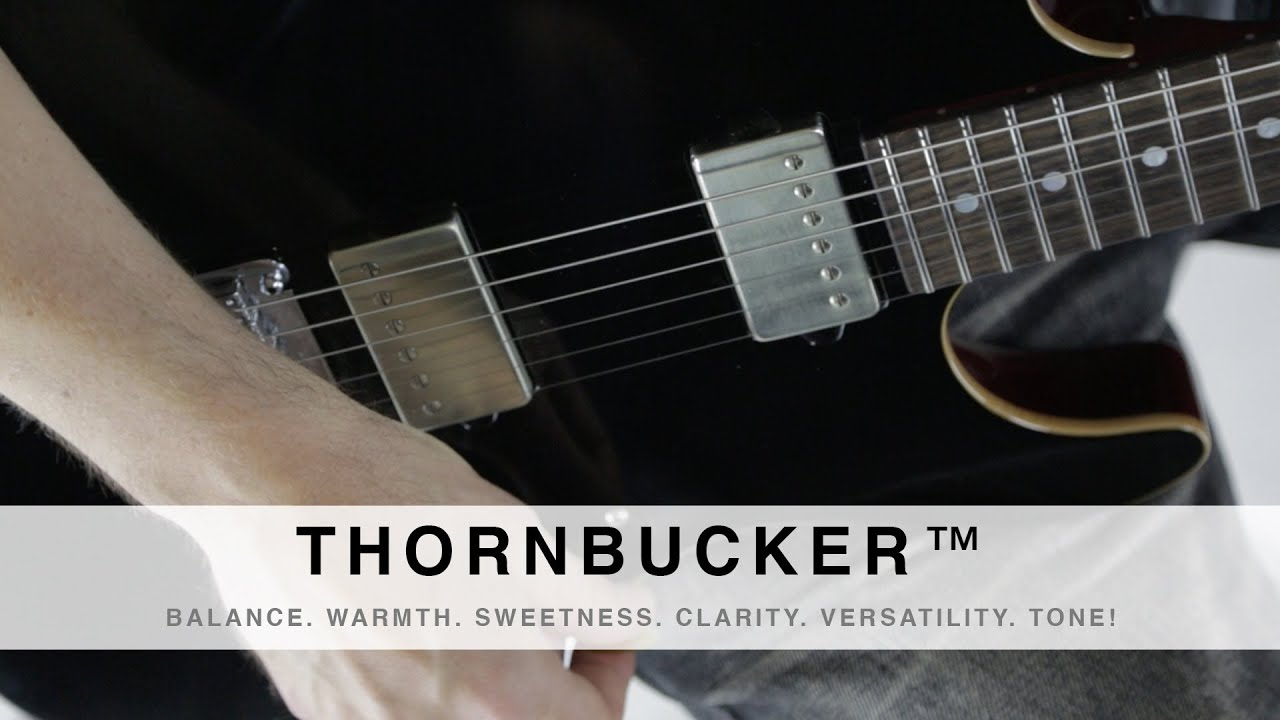 suhr thornbucker balance warmth sweetness clarity versatility tone  [ 1280 x 720 Pixel ]