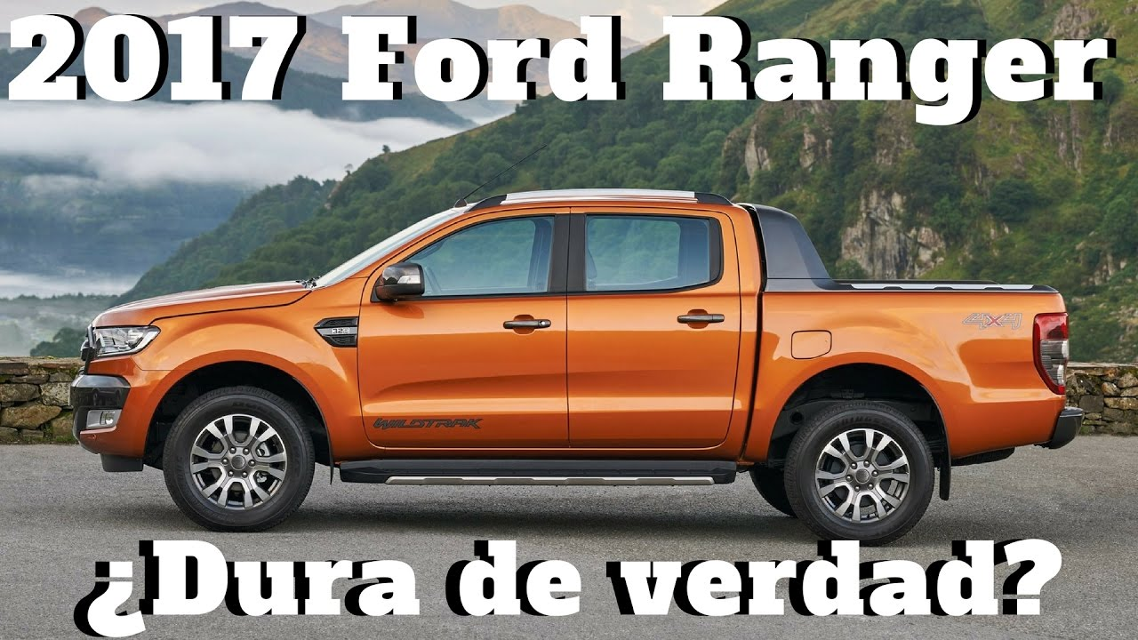 2017 ford ranger duras pruebas youtube. Black Bedroom Furniture Sets. Home Design Ideas