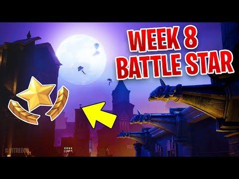 FORTNITE SEASON 10 WEEK 8 SECRET BATTLE STAR LOCATION !