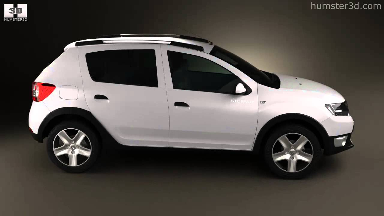 dacia sandero stepway 2013 by 3d model store. Black Bedroom Furniture Sets. Home Design Ideas
