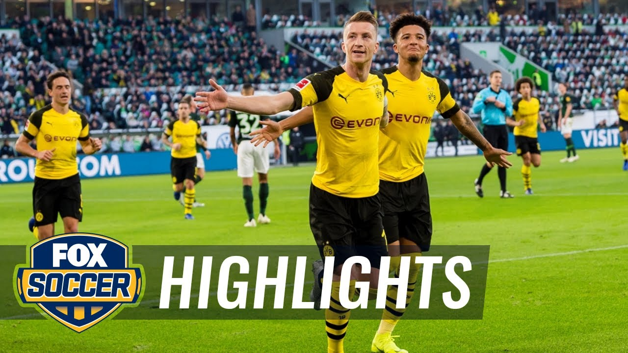 Vfl Wolfsburg Vs Borussia Dortmund 2018 19 Bundesliga