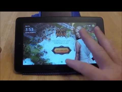 """Review: $49 Kindle Fire 7"""" Tablet Quick View"""