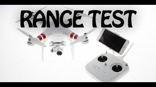Max Distance Test DJI Phantom 3 Standard FPV