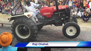 Swaraj855 JCB Vs Farmtrac 60 ਟਰੈਕਟਰ ਟੋਚਨ Sudhar 2016