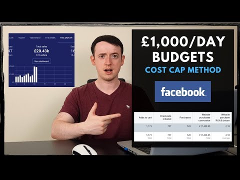 How To Control £1,000/Day Budgets | Facebook Ads Guide thumbnail
