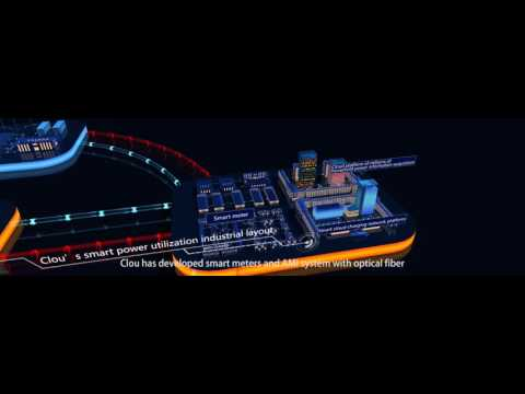 Clou's industrial layout about smart energy internet