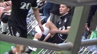20160812 ジュンス FCMEN junsu xia 김준수 靴下ジュンス.