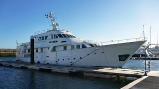 Halcyon Yacht Delivery - Benetti 30 Metre - UK to Gran Canaria