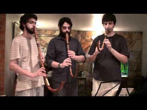 Susato - Crumhorn Trio -  Die vier Branlen