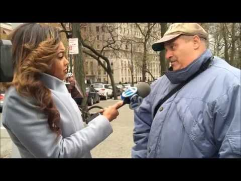 THEMAJESTIRIUM1 BEING INTERVIEWED BY LOCAL NEWS & THEN NEWSCAST REGARDING RARE LOOSE COYOTE IN NYC.