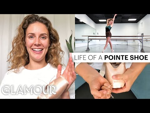 Ballerina Breaks Down How To Customize Pointe Shoes | On Pointe | Glamour